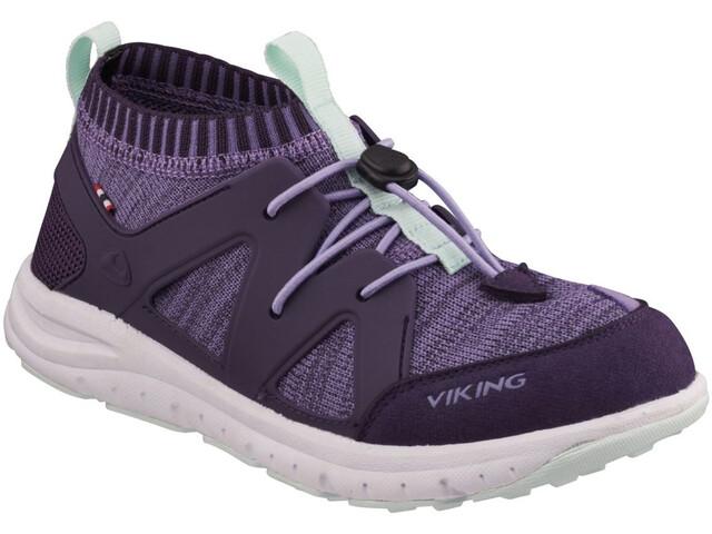 Viking Footwear Brobekk Chaussures Enfant, purple/violet